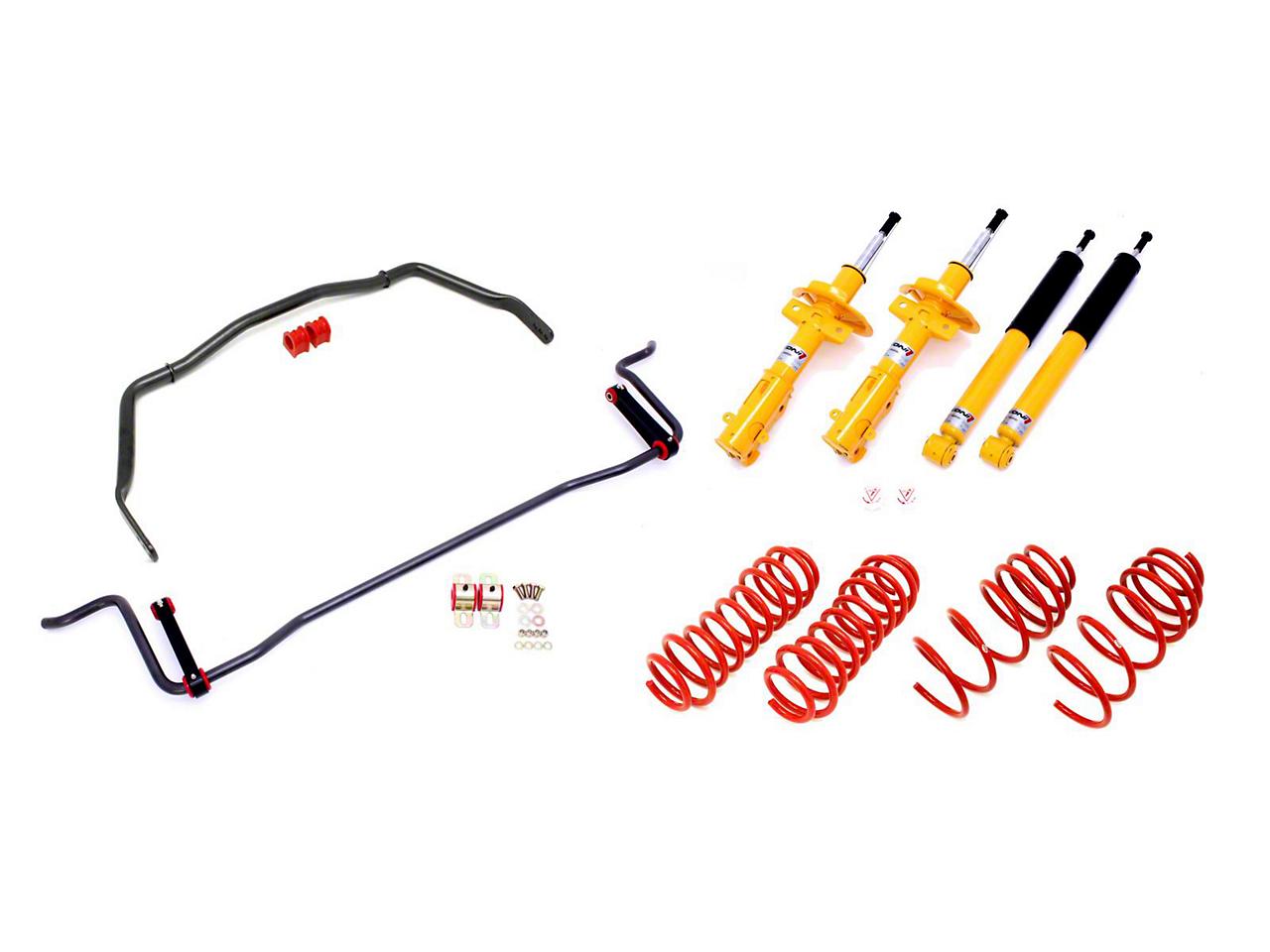 BMR Koni Adjustable Handling Performance Package - Level 4 - Hammertone (05-10 GT)