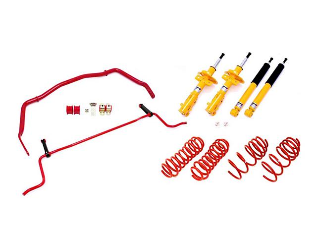 BMR Koni Adjustable Handling Performance Package - Level 4 - Red (05-10 GT)