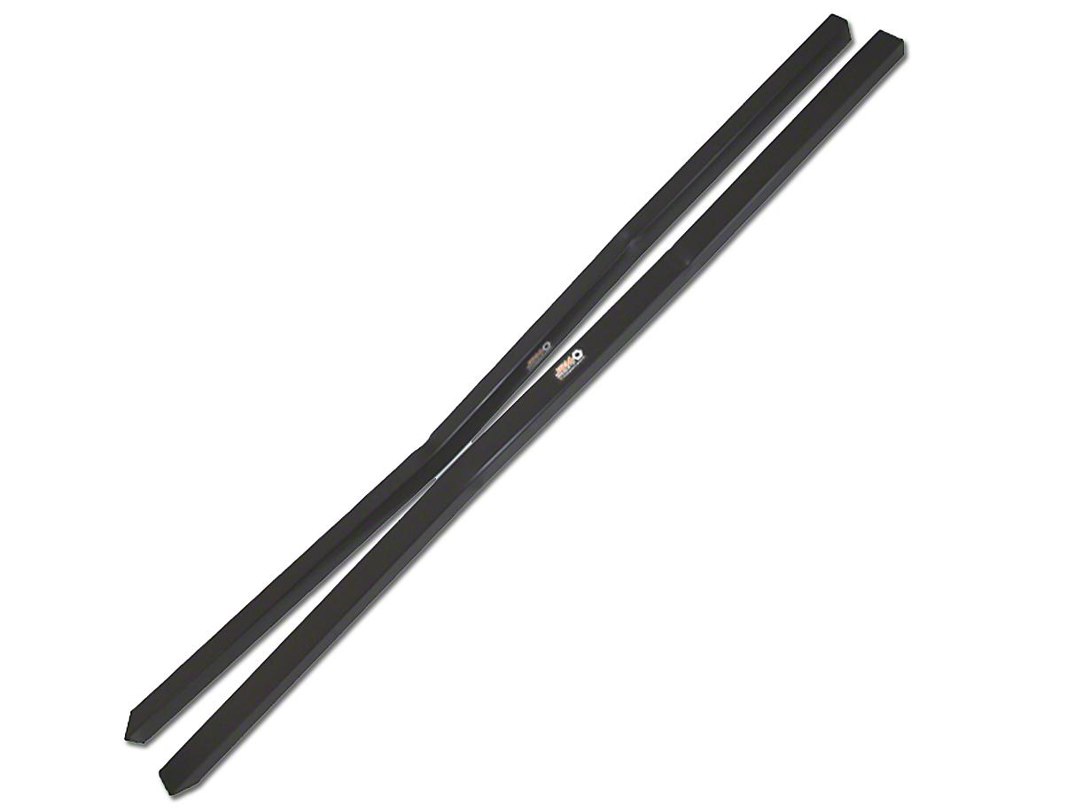 J&M Standard Length Subframe Connectors - Black (79-04 All)