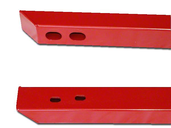 J&M Full Length Jacking Rails - Black (15-17 Convertible)