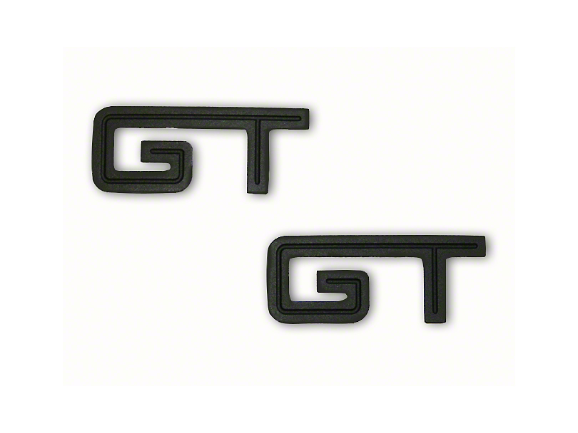 Defenderworx Matte Black GT Emblem (79-19 All)