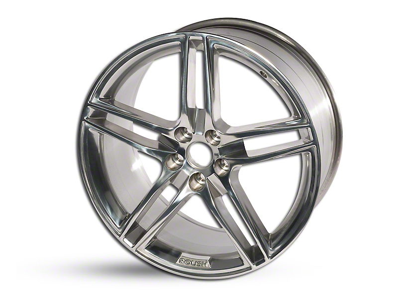 Roush Split 5-Spoke Polished Wheel - 20x9.5 (05-14 All)