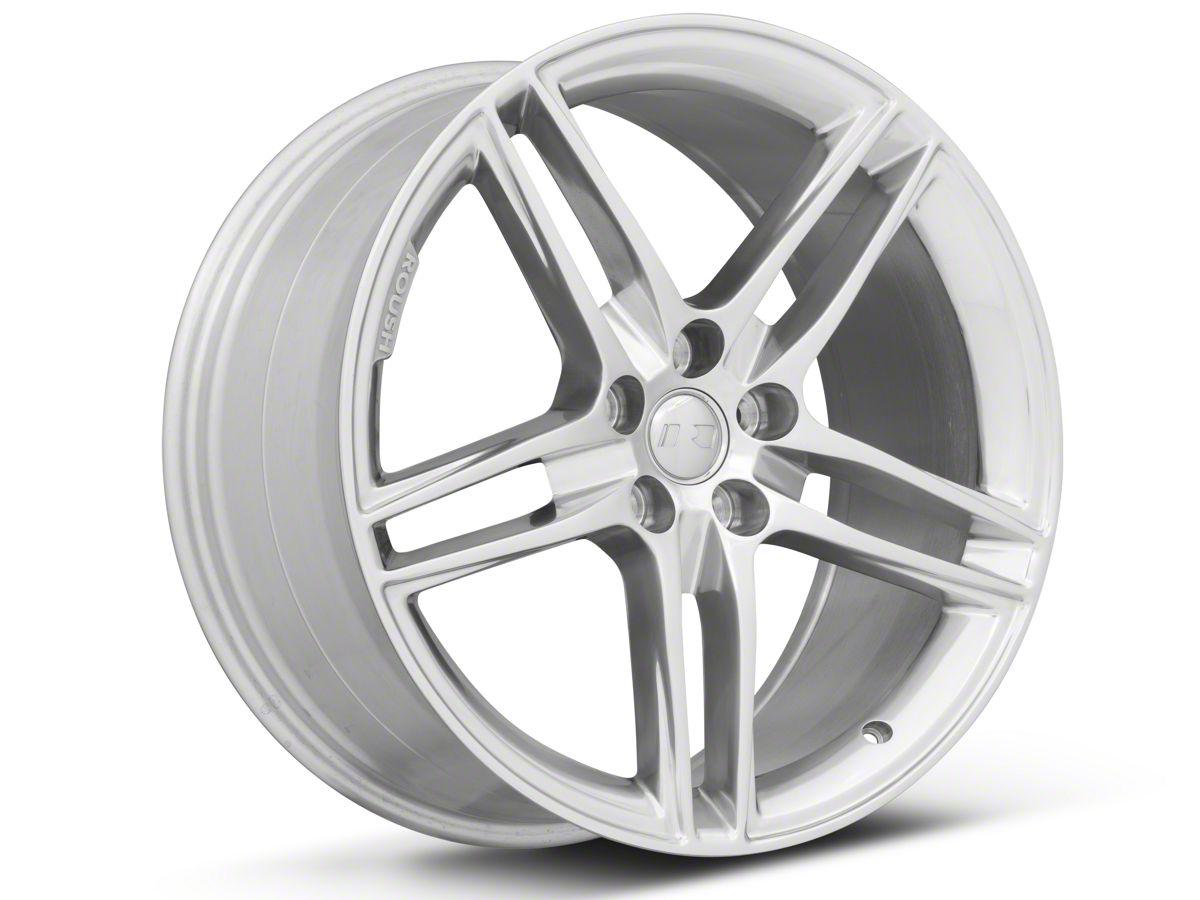 Roush Mustang Wheels >> Roush Split 5 Spoke Polished Wheel 20x9 5 15 20 Gt Ecoboost V6