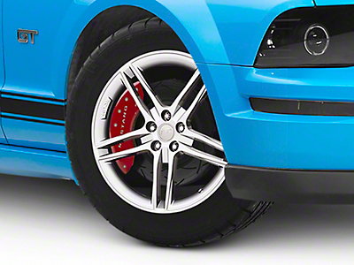 Roush Split 5-Spoke Quicksilver Wheel - 20x9.5 (05-14 All)