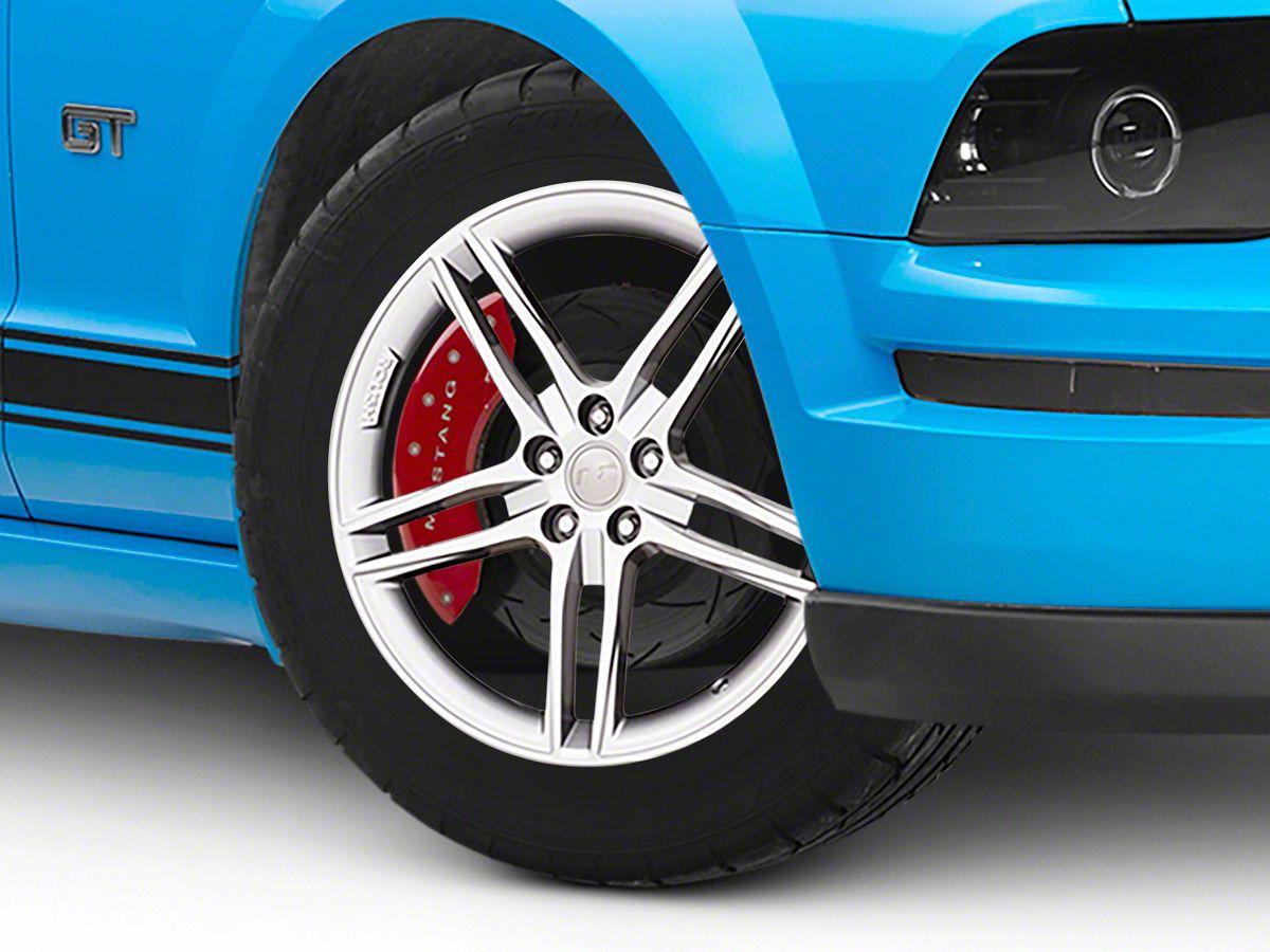 Roush Mustang Wheels >> Roush Split 5 Spoke Quicksilver Wheel 20x9 5 05 09 All
