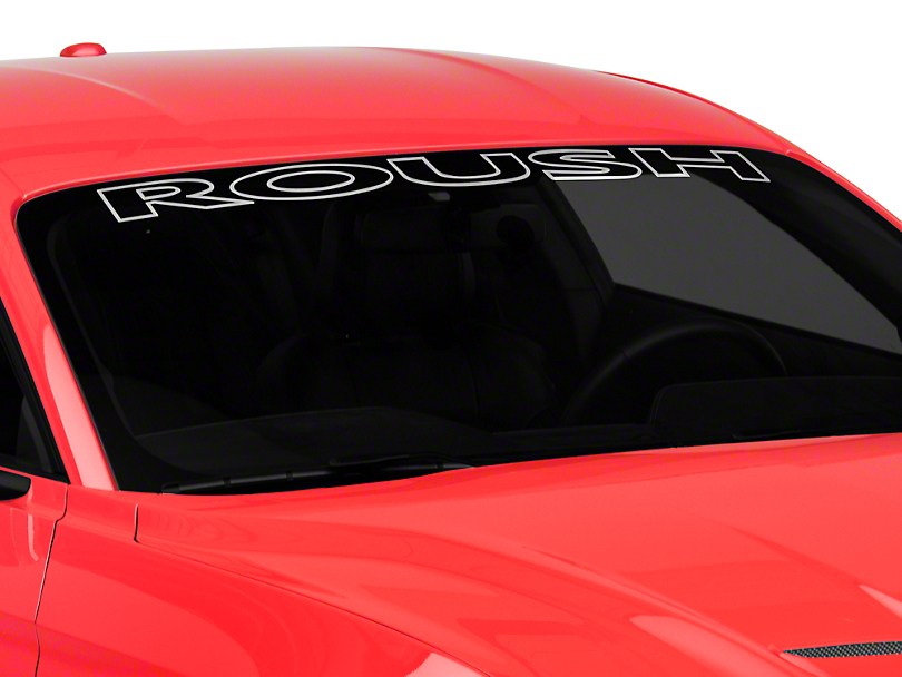 Roush Windshield Banner (15-19 All)