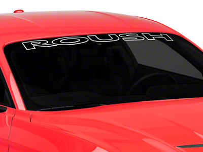 Roush Windshield Banner (15-18 All)