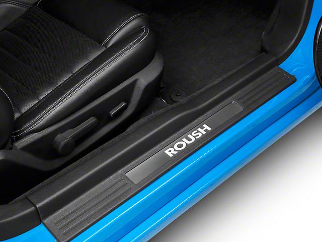 Roush Illuminated Door Sill Plates (10-14 All) & Roush Mustang Illuminated Door Sill Plates 420031 (10-14 All) - Free ...