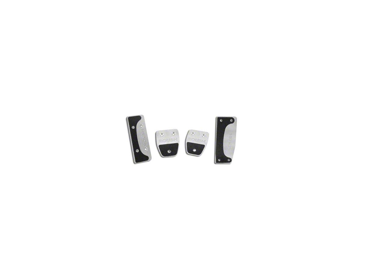 Roush 4-Piece Performance Pedal Kit (11-14 w/ Manual Transmission)