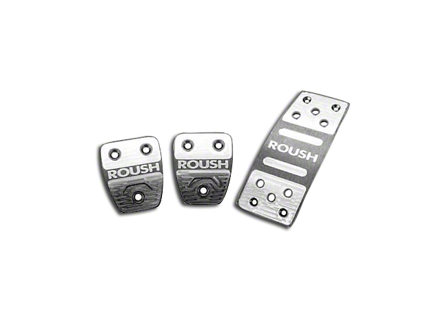 Roush 3-Piece Performance Pedal Kit (05-10 w/ Manual Transmission)