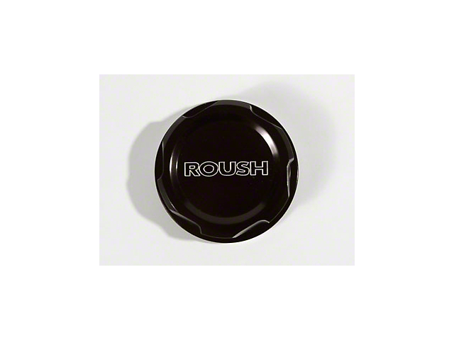 Roush Black Anodized Billet Power Steering Fluid Cap (05-14 All)