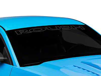 Roush Windshield Banner - Matte Black (94-14 All)