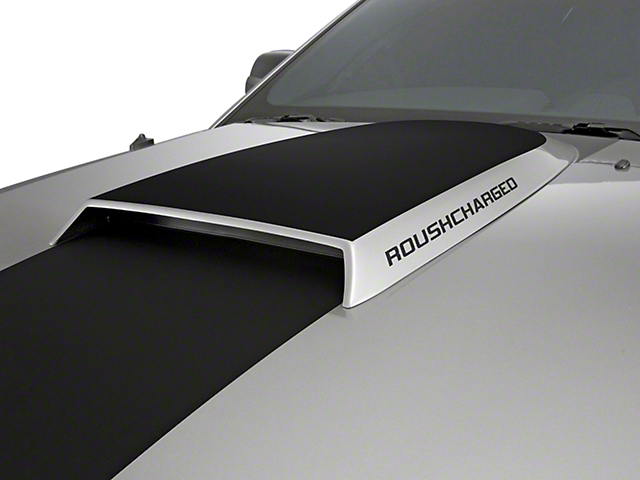 Roush ROUSHcharged Hood Scoop Decal - Competition Gray (05-09 All)