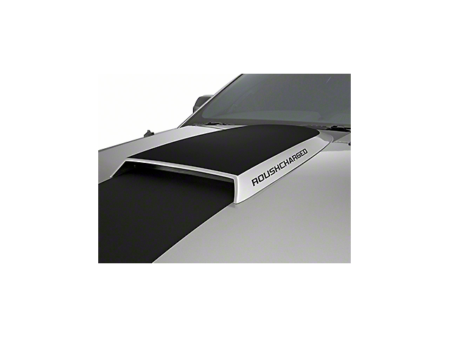 Roush ROUSHcharged Hood Scoop Decal - Gloss Black (05-09 All)