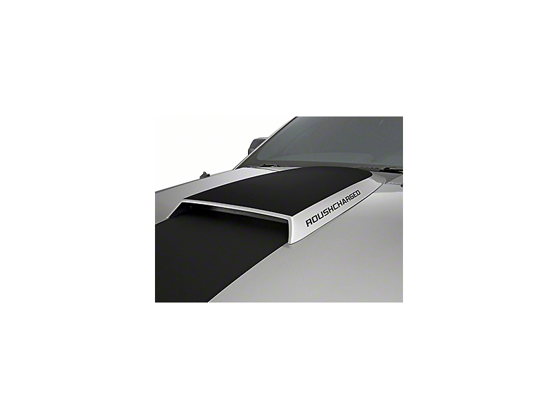 Roush ROUSHcharged Hood Scoop Decal - Matte Black (05-09 All)
