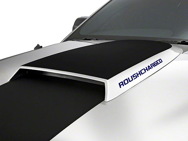 Roush ROUSHcharged Decal - Blue (10-12 All)