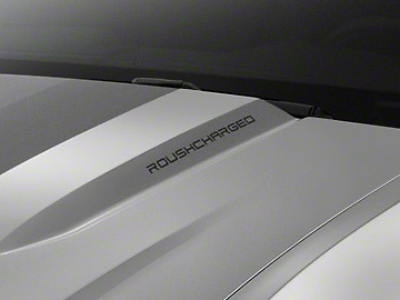 Roush ROUSHcharged Decal - Red (10-12 All)