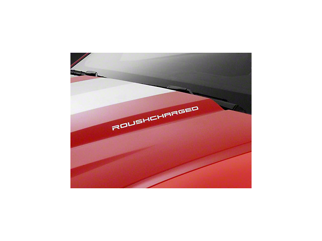 Roush ROUSHcharged Decal - White (10-12 All)