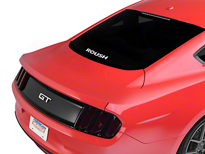 Roush Rear Window Decal - White (79-18 All)