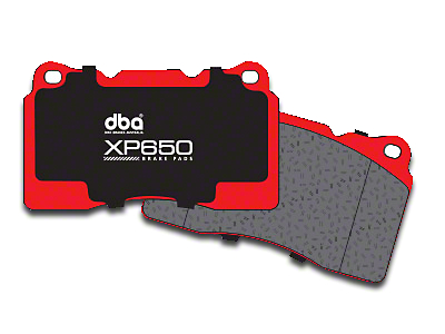 DBA XP650 Track/Heavy Load Performance Brake Pads - Rear Pair (94-04 Cobra, Bullitt, Mach 1)