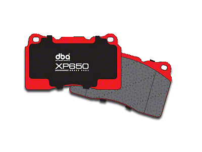 DBA XP650 Track/Heavy Load Performance Brake Pads - Rear Pair (15-18 GT, EcoBoost, V6)