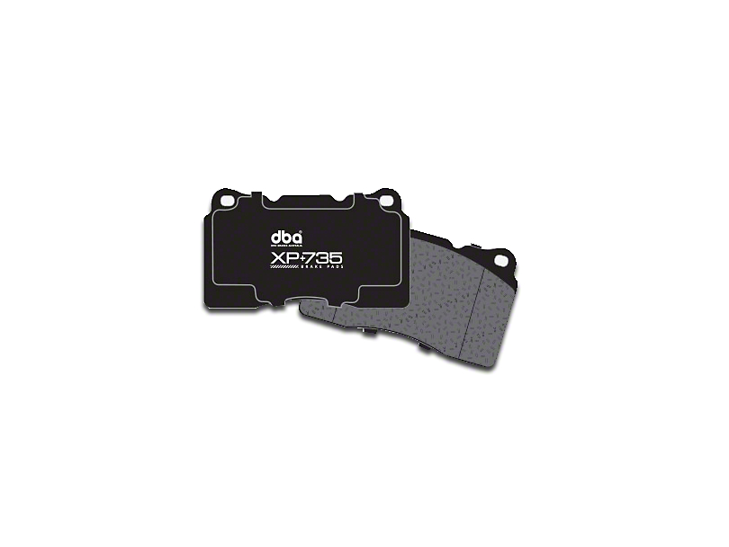 DBA XP+735 Circuit Performance Brake Pads - Front Pair (15-18 Standard GT, EcoBoost w/ Performance Pack)