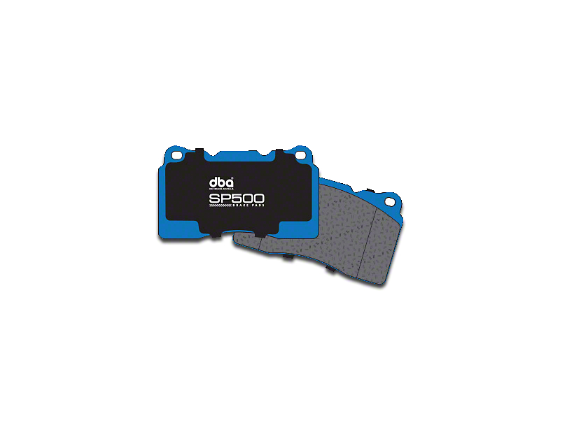 DBA SP500 Street Performance Brake Pads - Rear Pair (94-04 Cobra, Bullitt, Mach 1)