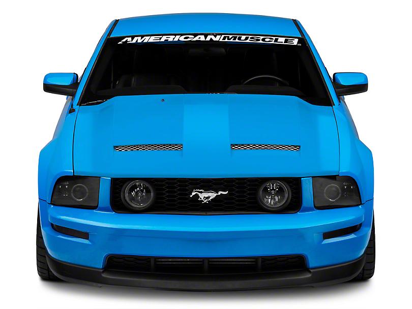 RK Sport California Dream Ram Air Hood - Unpainted (05-09 GT, V6)