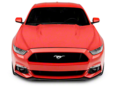 RK Sport GT350 Style Extractor Hood - Unpainted (15-17 GT, EcoBoost, V6)