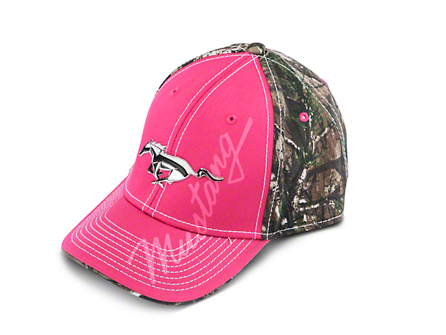 Ford Pink Running Pony Hat