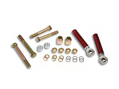 Maximum Motorsports Bolt-Through Style Bumpsteer Kit for SN95 Control Arms (79-93 All)