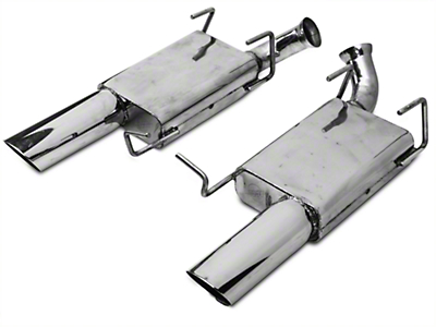 MAC Axle-Back Exhaust w/ Non-Rolled Tips (11-14 GT)