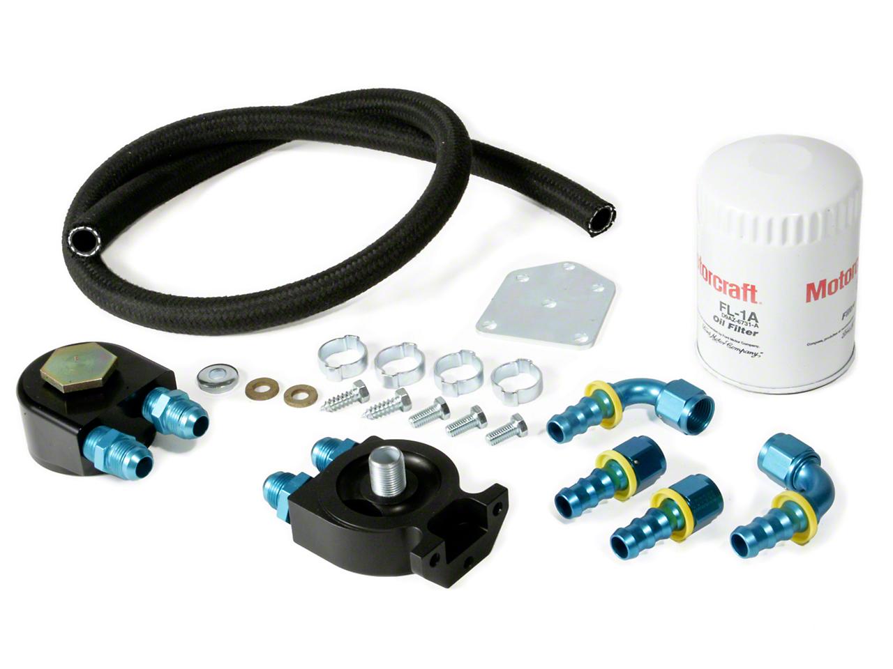 Maximum Motorsports Standard Duty Oil Filter Relocation Kit (96-98 Cobra)