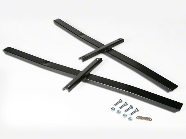 Maximum Motorsports Standard Subframe Connectors - Black (94-04 All)