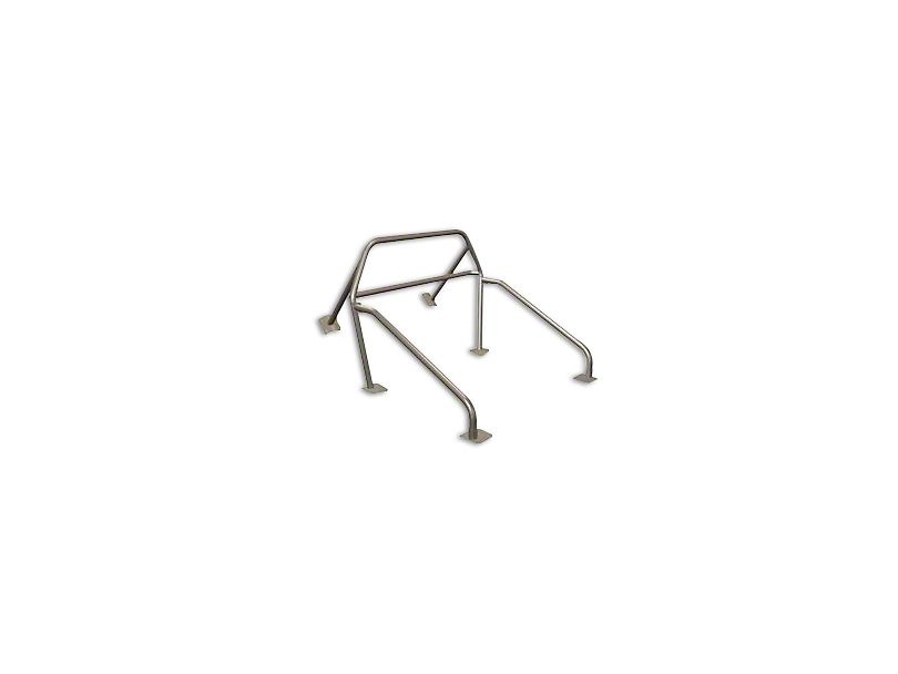 Maximum Motorsports 6-Point Drag Race Roll Bar w/ Fixed Harness Mount (79-93 Coupe, Hatchback)