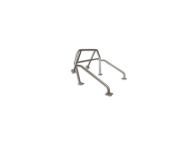 Maximum Motorsports 6-Point Drag Race Roll Bar w/ Fixed Harness Mount (83-93 Convertible)