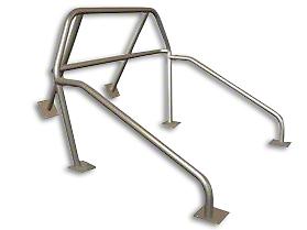Maximum Motorsports 6-Point Drag Race Roll Bar w/ Fixed Harness Mount (83-93 Convertible)