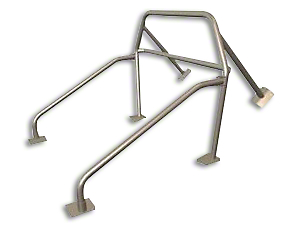Maximum Motorsports 6-Point Drag Race Roll Bar w/ Fixed Harness Mount (94-04 Coupe)