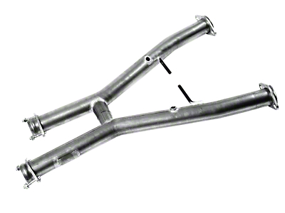 MAC Off-Road H-Pipe (94-97 V6 w/ Long Tube Headers)