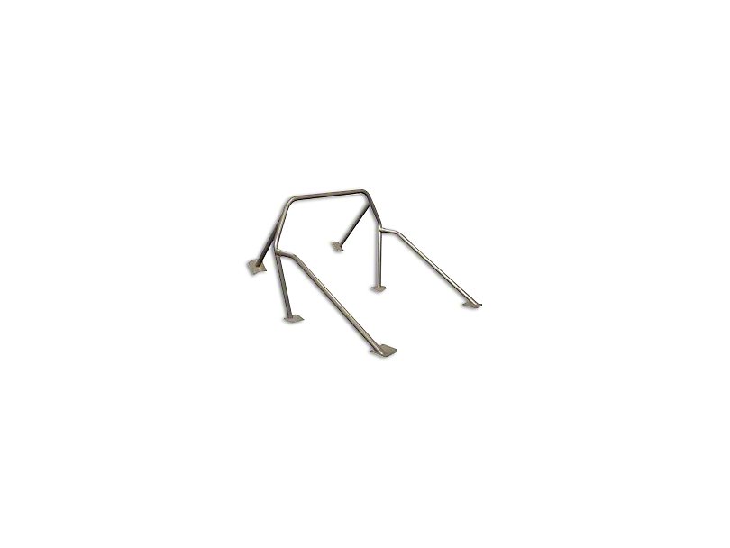 Maximum Motorsports 6-Point Roll Bar w/o Harness Mount (79-93 Coupe, Hatchback)
