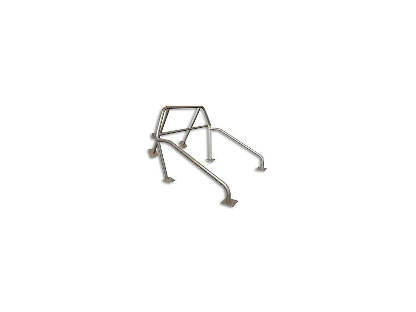 Maximum Motorsports 6-Point Street/Strip Roll Bar w/ Removable Harness Mount (83-93 Convertible)
