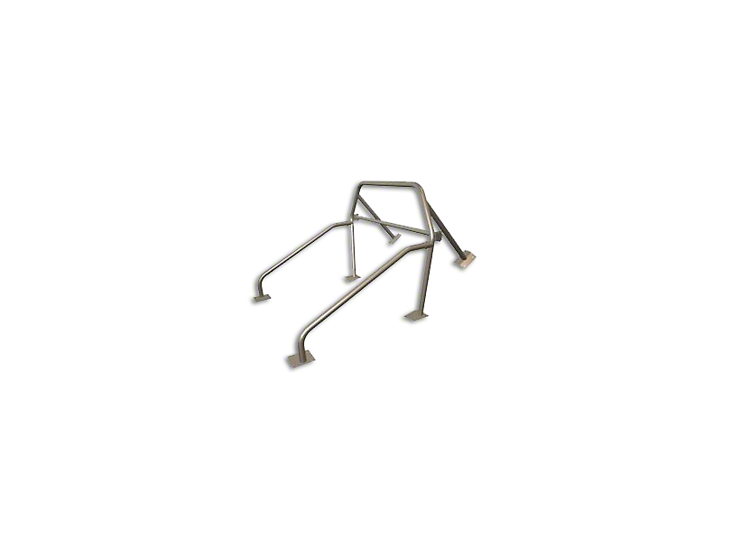 Maximum Motorsports 6-Point Street/Strip Roll Bar w/ Removable Harness Mount (94-04 Coupe)