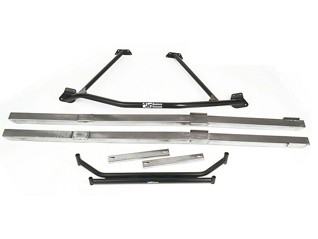 Maximum Motorsports Full Length Chassis Brace Package (79-93 Coupe, Hatchback)