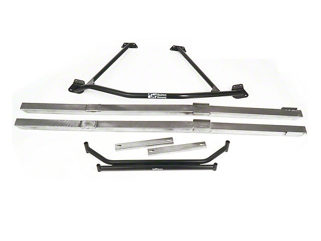 Maximum Motorsports Full Length Chassis Brace Package (96-98 Cobra Coupe)