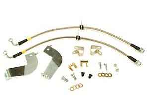 Maximum Motorsports Stainless Steel Brake Hose Kit - Rear (99-04 Cobra)
