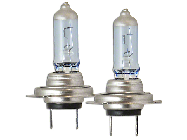 PIAA Xtreme White Hybrid Halogen Headlight Bulbs - H7 (99-09 w/ Aftermarket Headlights)