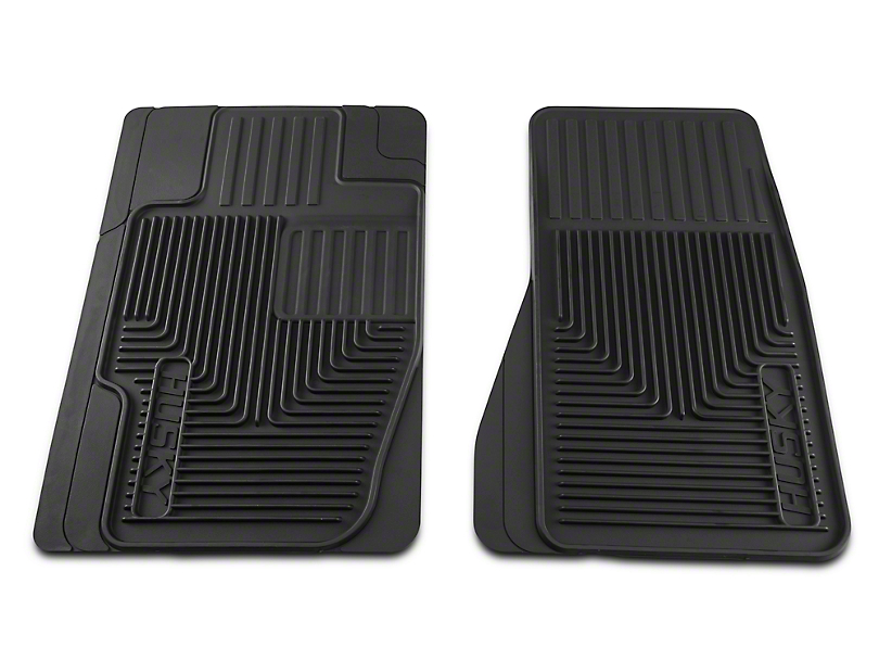 Husky Heavy Duty Front Floor Mats - Black (05-07 All)