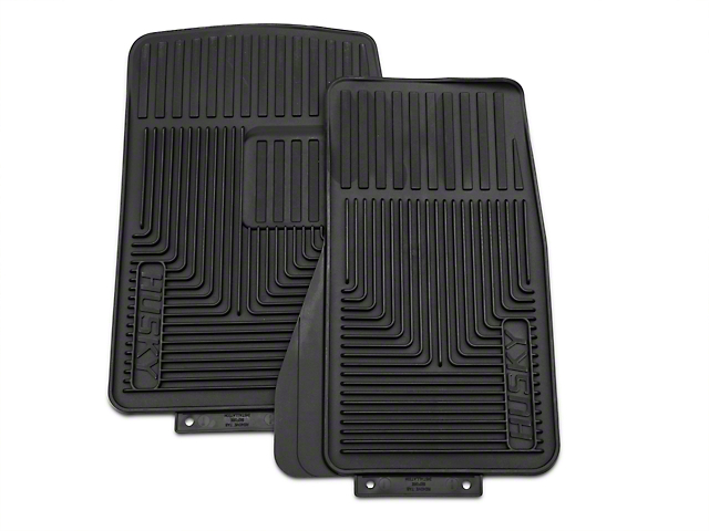 Husky Heavy Duty Front Floor Mats - Black (87-04 All)