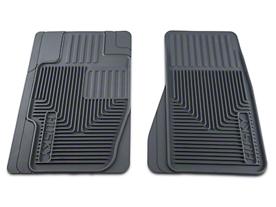 Husky Heavy Duty Front Floor Mats - Gray (05-07 All)