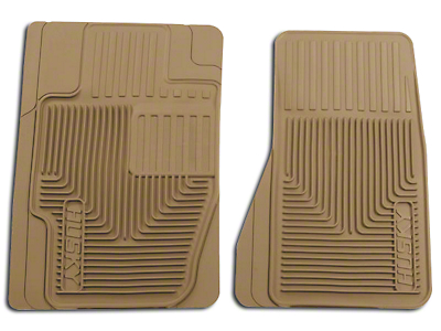 Husky Heavy Duty Front Floor Mats - Tan (05-07 All)